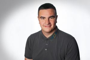 Justin Kersten, Auszubildender zum KFZ-Mechatroniker