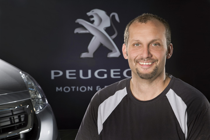 Oliver Dorn, PEUGEOT Techniker