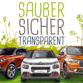 Sauber, sicher, transparent – Groupe PSA startet Initiative zur Stärkung des Verbrauchervertrauens