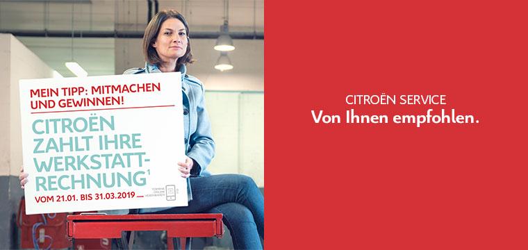 Citroën – Aktion Wartungskosten