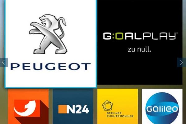 PEUGEOT jetzt mit eigenem TV-Programm