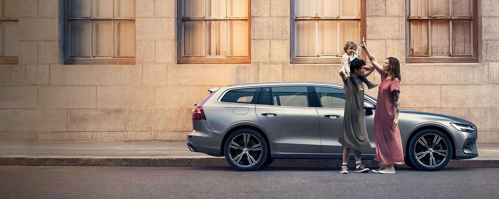 Der neue Volvo V60.