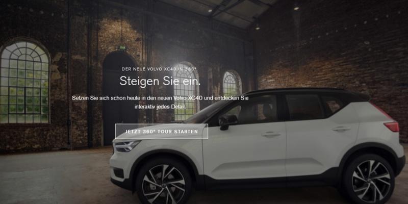 Den neuen Volvo XC40 in 360° erleben